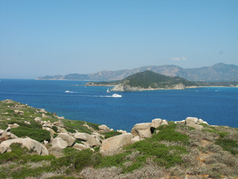 Szardínia kirándulás, a Matilda nevű vitorlás hajóval, a Cavoli sziget partjánál 2