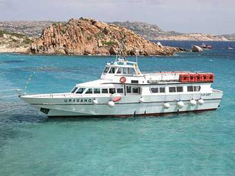 Szardínia, Maddalena-szigetek hajókirándulás
