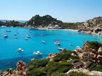 Szardínia, Maddalena-szigetek hajókirándulás2