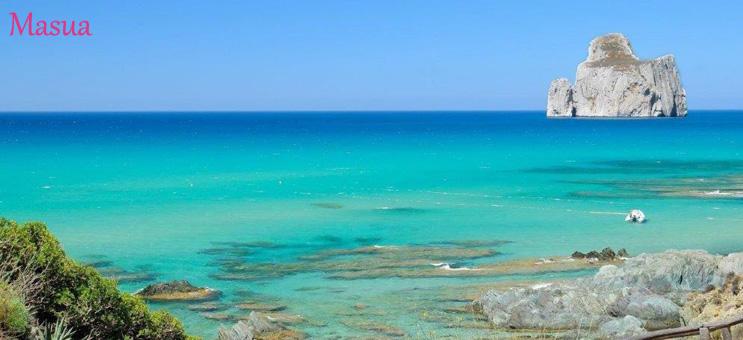Szardínia szállás Masua tenger