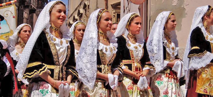 Szardínia szállás folklor