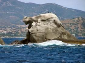 Szardínia sziget fekvése tájai