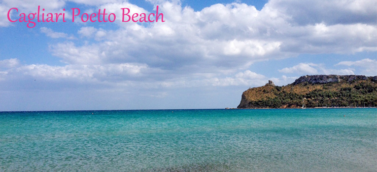 Cagliariban, Szardínia fővárosában van Olaszország egyik leghosszabb tengerpartja a Poetto Beach
