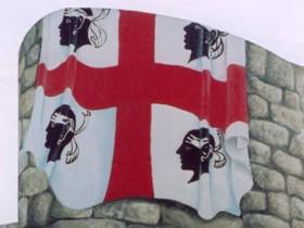 Szardínia sziget zászlója