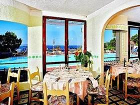 szardinia_hotel_4_csillagos_eszaki_part_hotel_smeraldo_beach_baia_sardinia_etterem
