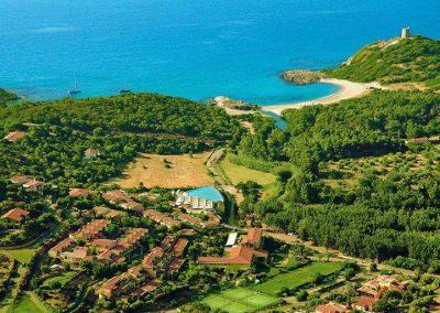 szardinia_hotel_4_csillagos_keleti_part_valtur_torre_chia_domus_de_maria_panorama